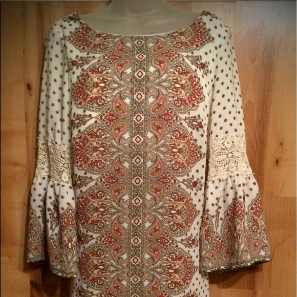 Vintage Luxology Paisley Dress
